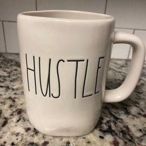 "Rae Dunn ""HUSTLE"" Mug"